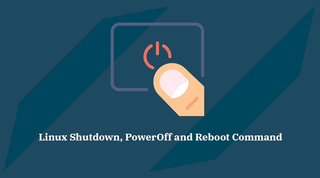 Ways to Shutdown CentOS 8