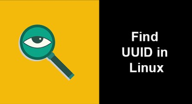 Find UUID in Linux Mint 20 - How to do it ?