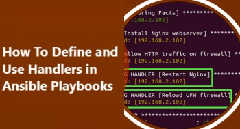 Define and Use Handlers in Ansible Playbooks