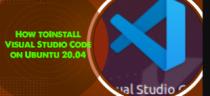 Install Visual Studio Code on Ubuntu 20.04 - Step by Step Process ?