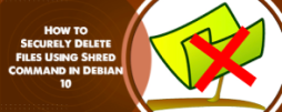 Securely Delete Files Using Shred Command in Debian 10 - How to do it ?