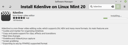 Install Kdenlive on Linux Mint 20 - Step by Step Process ?