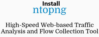 Install Ntopng on Ubuntu 20.04 LTS