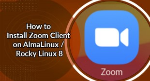 Install Zoom Client on AlmaLinux / Rocky Linux 8 - Step by Step guide ?