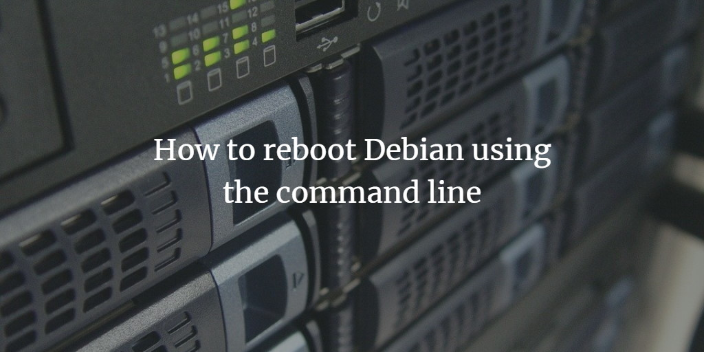 Methods to shutdown Debian 10 from the command line and GUI ?
