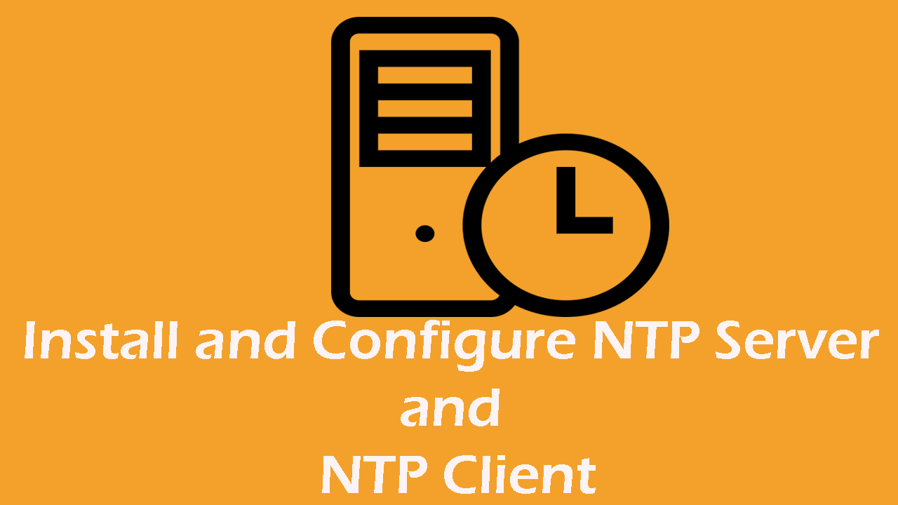 NTP Server and Client on Ubuntu - How to Configure it ?