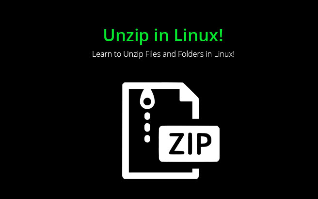 Unzip Files in Linux - How to perform it ?