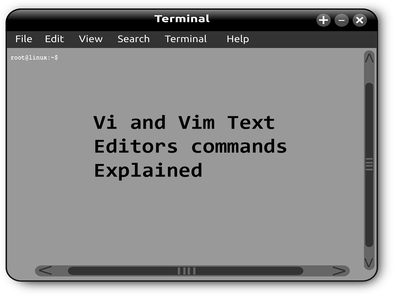 Different methods of showing or hiding line numbers in Linux vi / vim text editor