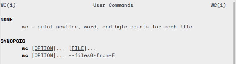 wc command: Demonstrated with 5 examples on Ubuntu 20.04 LTS